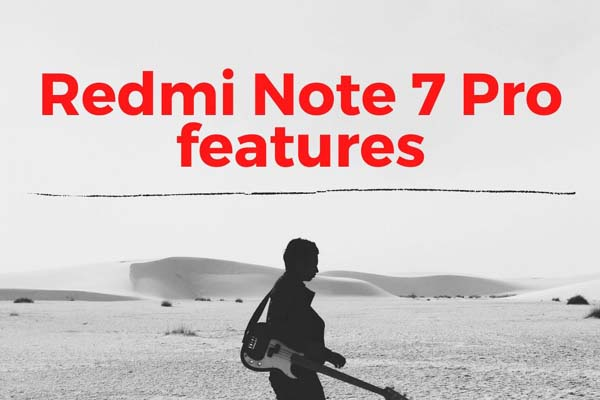 Redmi Note 7 Pro features 64 GB