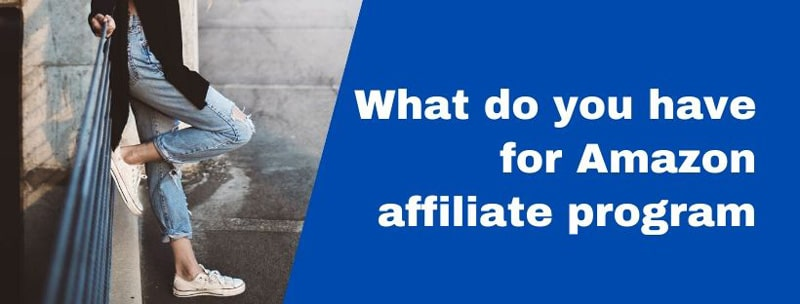 What do you have for Amazon affiliate program