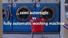 Semi automatic ys fully automatic washing machine