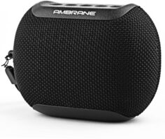 Ambrane Bluetooth Speaker Black, Stereo Channel