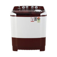 LG 7 kg 4 Star Rating Semi Automatic Top Load Maroon