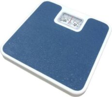 KETSAAL Large Surface Iron Analog Weighing Scale(Dark Blue)