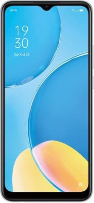 OPPO A15S Rainbow Silver