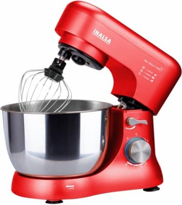 Inalsa Stand Mixer Uni Blend 1000W with 5L SS Bowl