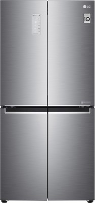 LG 594 L Frost Free Side by Side Refrigerator with Four Door