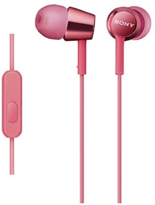 SONY MDR-EX150AP Light Pink Wired Headset